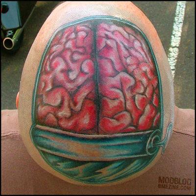 Mozek tetování