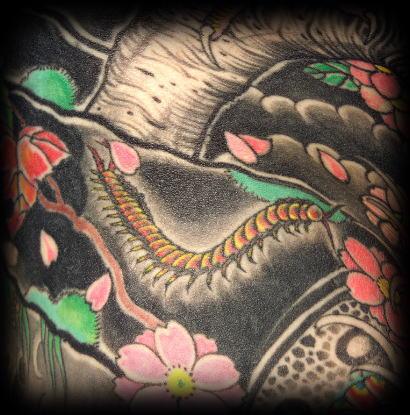 Japonské tetování
