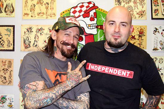 Světový rekord v tetování
