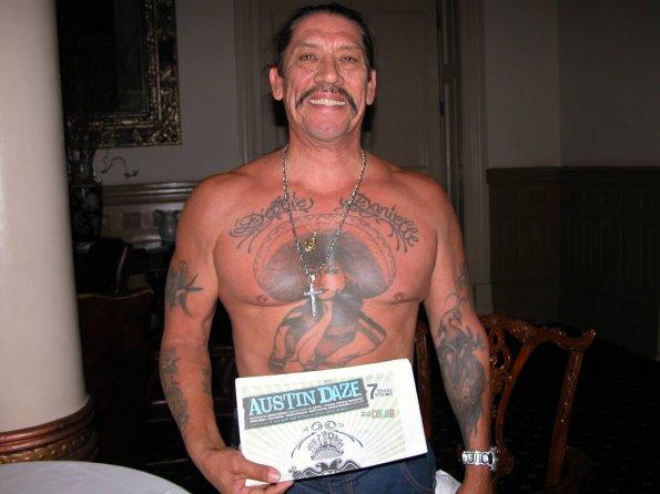 Danny Trejo tetování