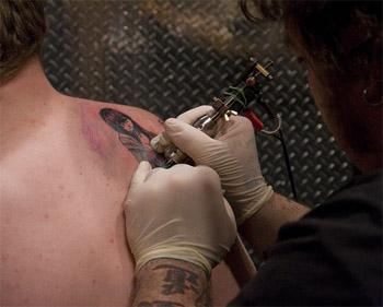 Cena tetování