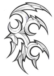 Ornamenty Tribal Tetování