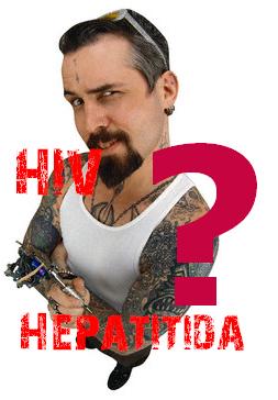 Mohu se při tetování něčím nakazit?