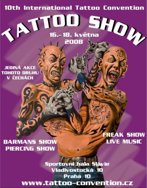 Tattoo Convention Prague 2008