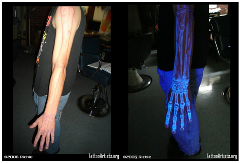 UV tetování